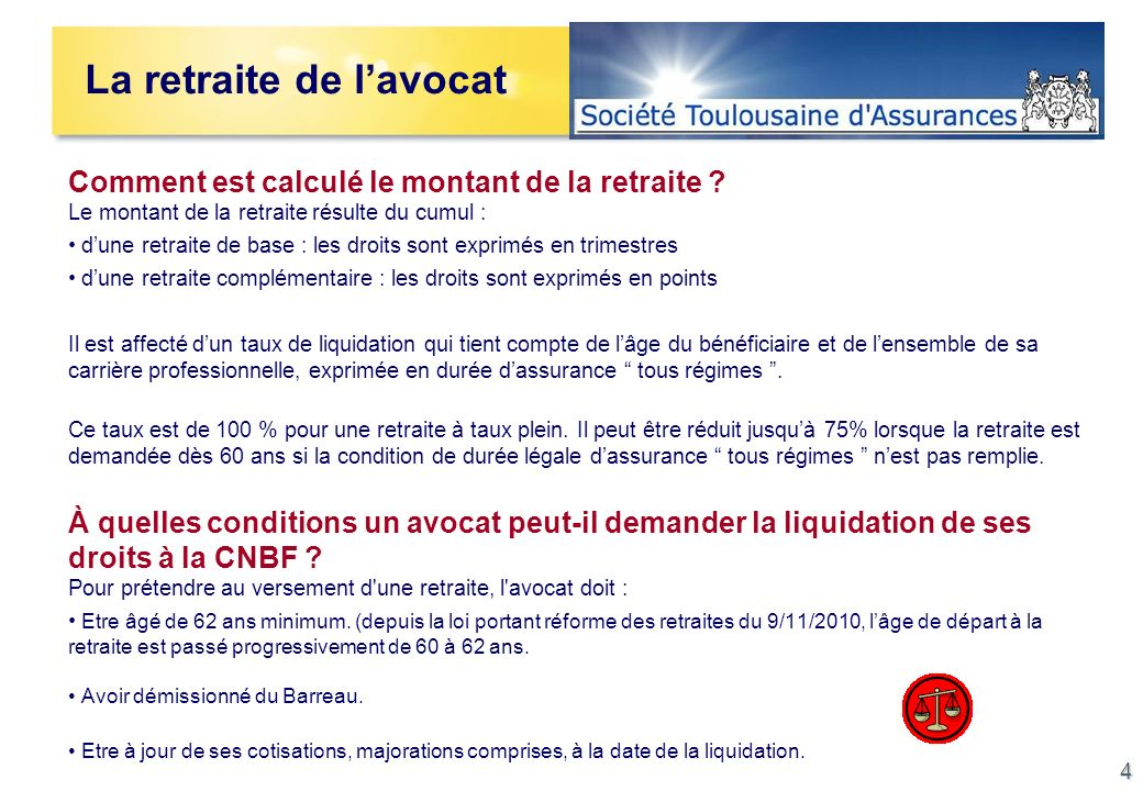 La protection sociale de l avocat ppt video online - Comment obtenir un avocat commis d office ...
