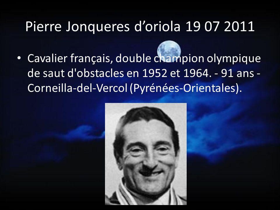 Pierre Jonqueres d'oriola 19 07 2011