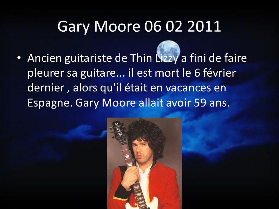 Gary Moore 06 02 2011