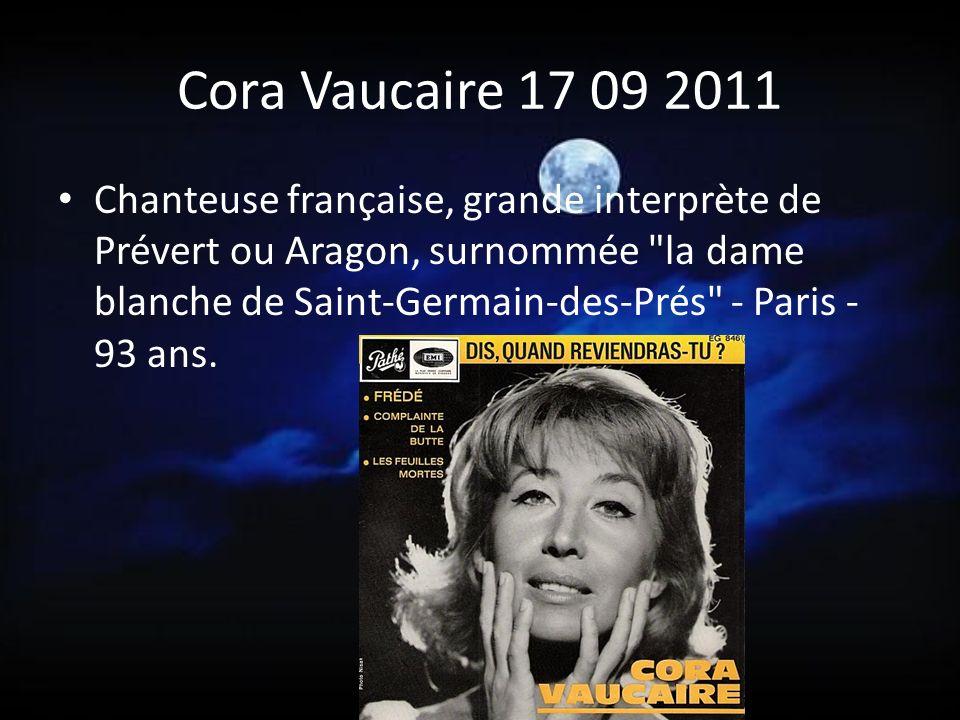 Cora Vaucaire 17 09 2011