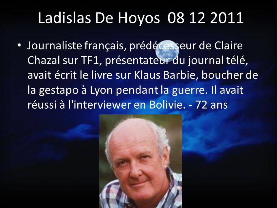 Ladislas De Hoyos 08 12 2011