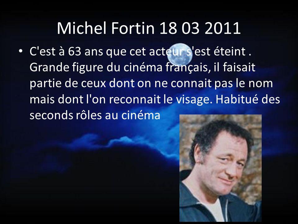 Michel Fortin 18 03 2011