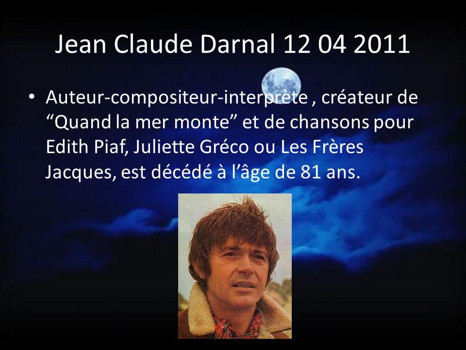 Jean Claude Darnal 12 04 2011