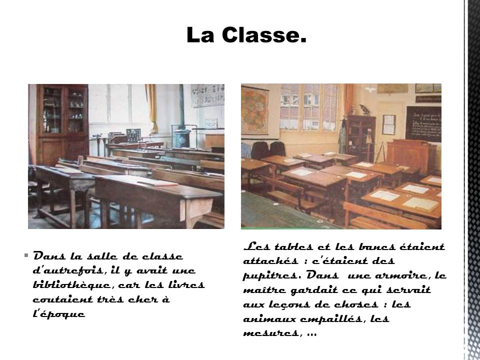 La Classe.