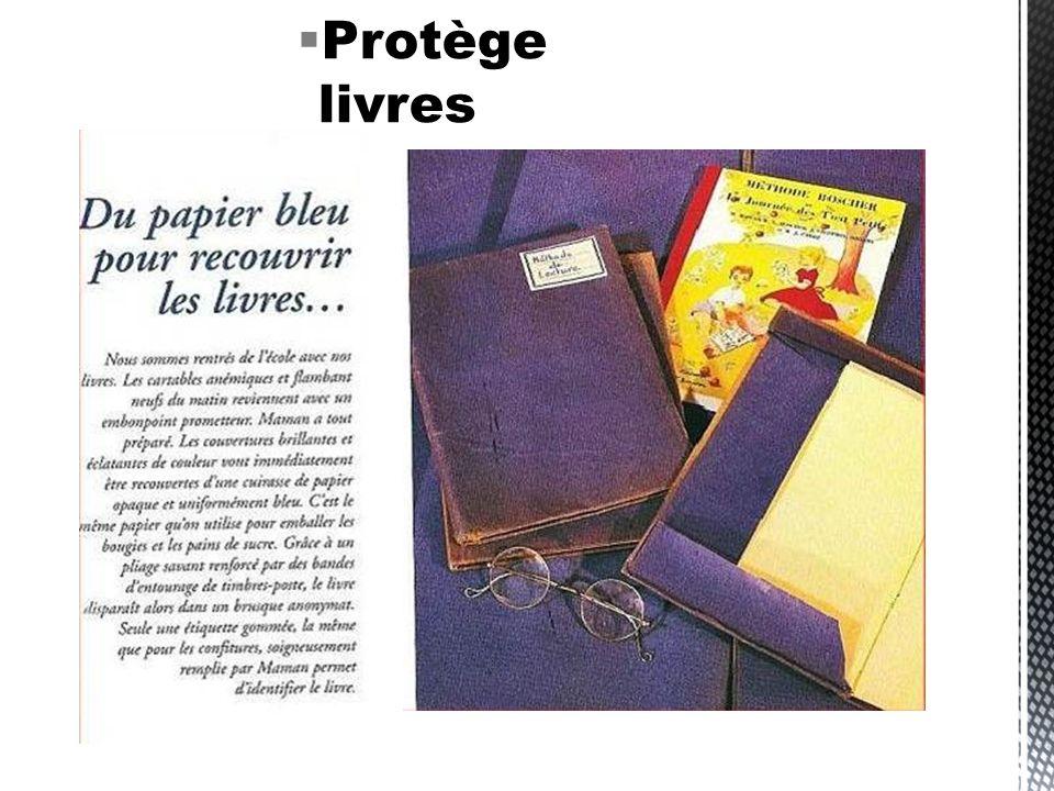 Protège livres