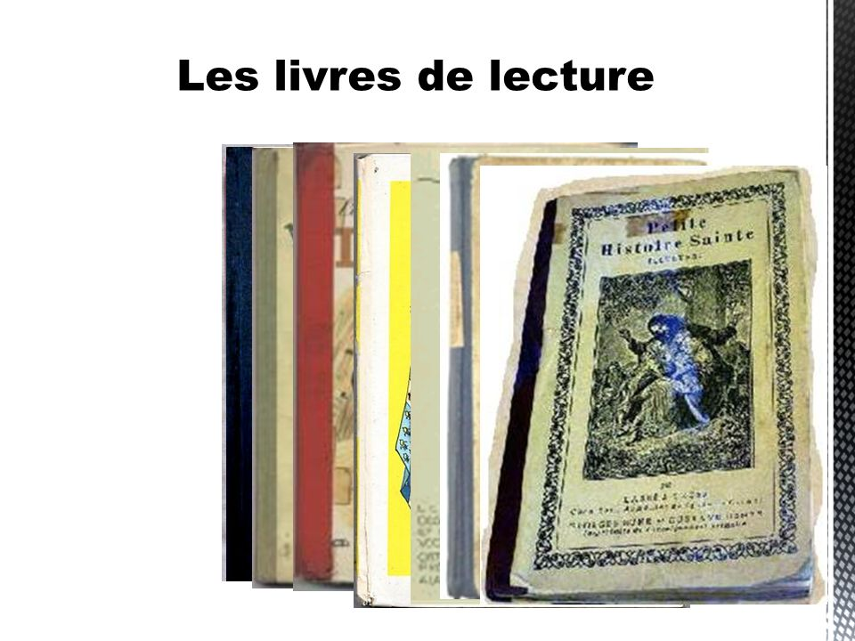 Les livres de lecture
