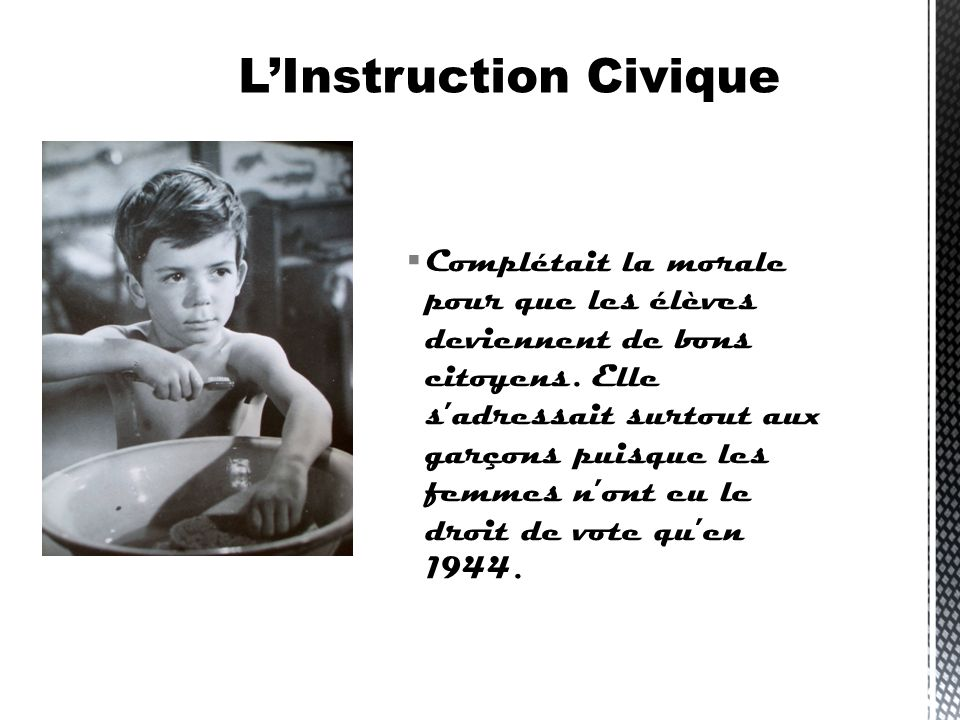 L'Instruction Civique