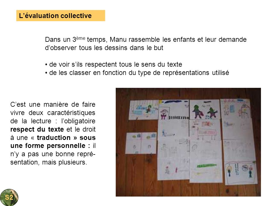 L'évaluation collective