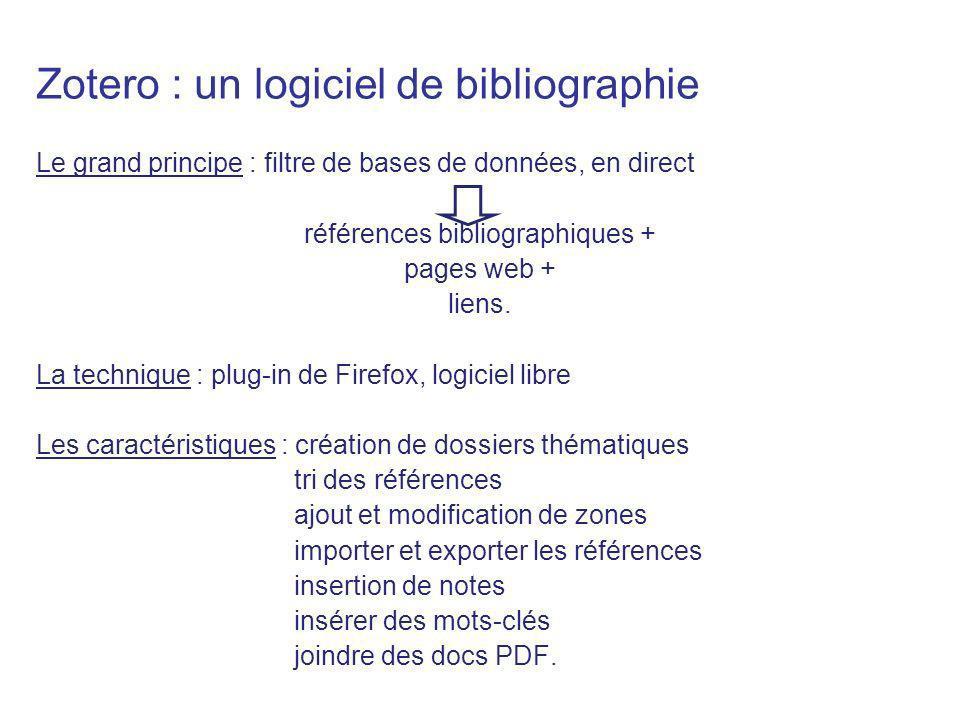 références bibliographiques +
