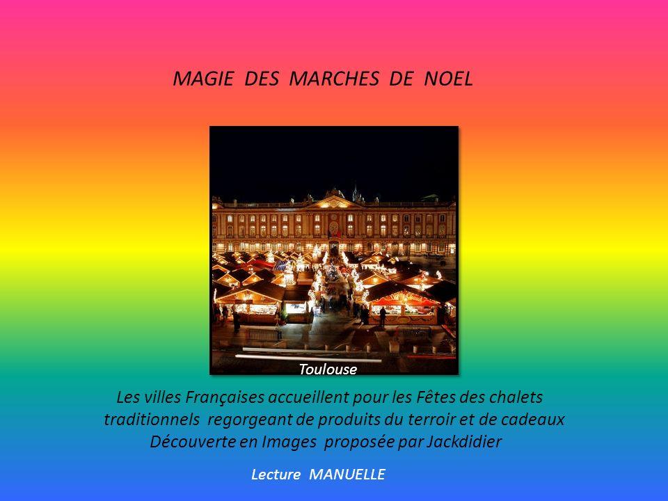 MAGIE DES MARCHES DE NOEL