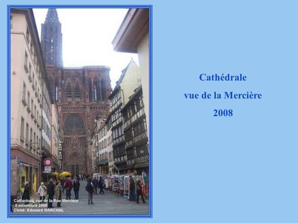 Cathédrale vue de la Mercière 2008