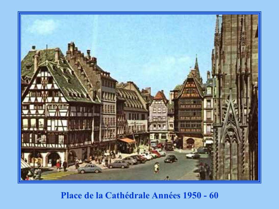 Place de la Cathédrale Années 1950 - 60