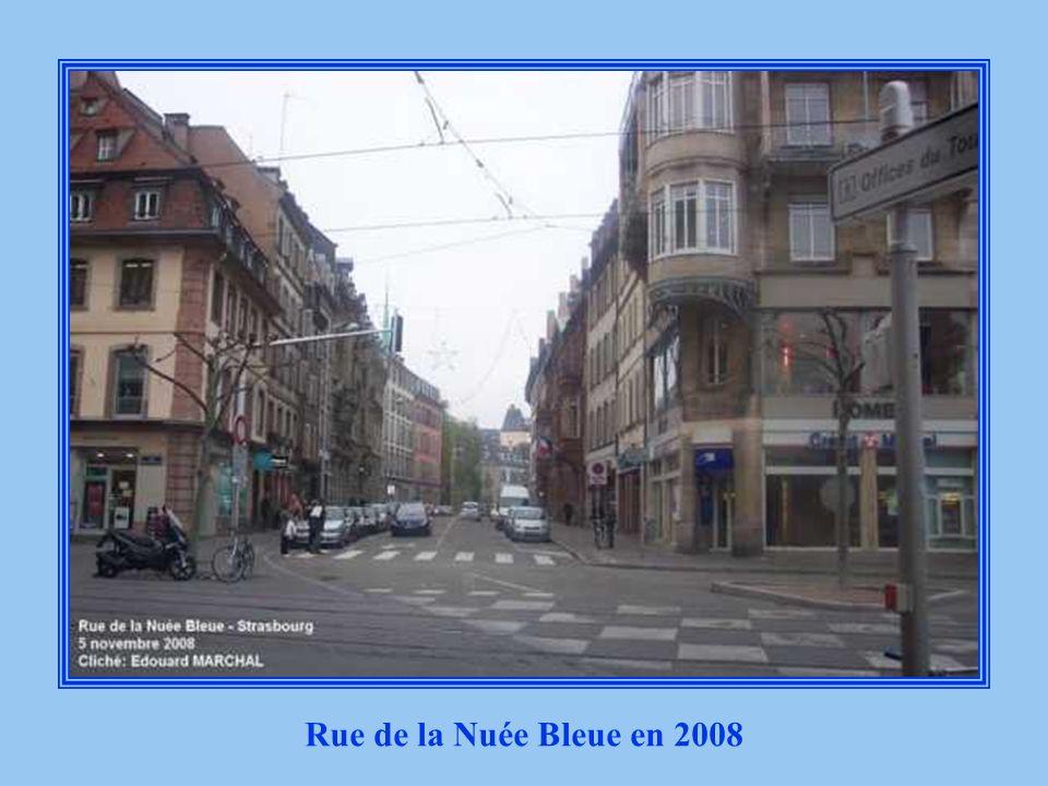 Rue de la Nuée Bleue en 2008