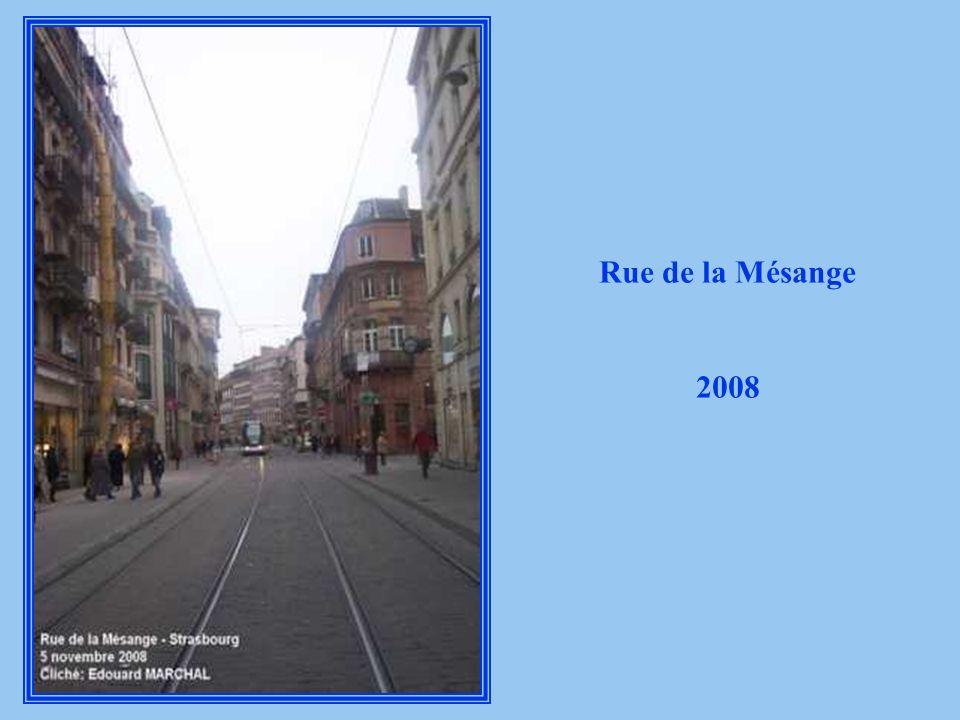 Rue de la Mésange 2008