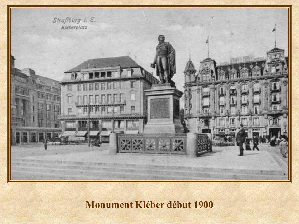 Monument Kléber début 1900