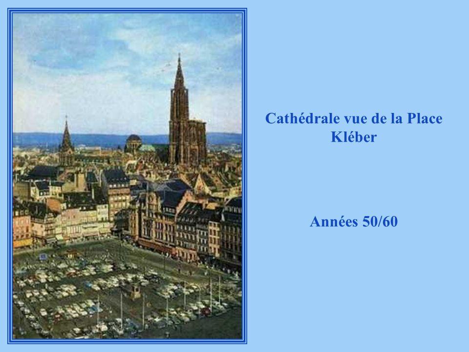 Cathédrale vue de la Place Kléber