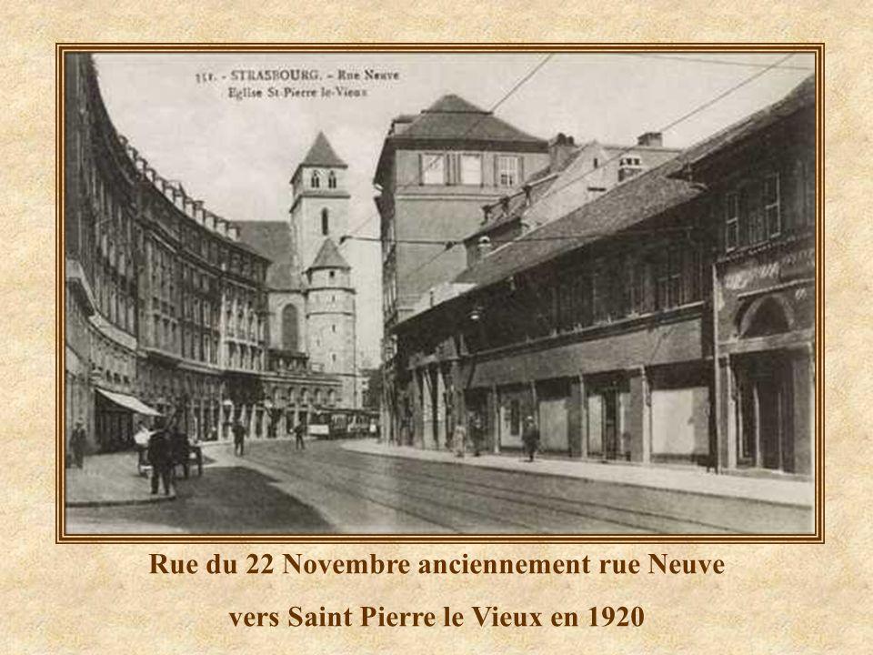Rue du 22 Novembre anciennement rue Neuve