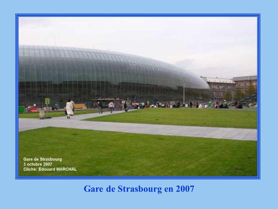 Gare de Strasbourg en 2007