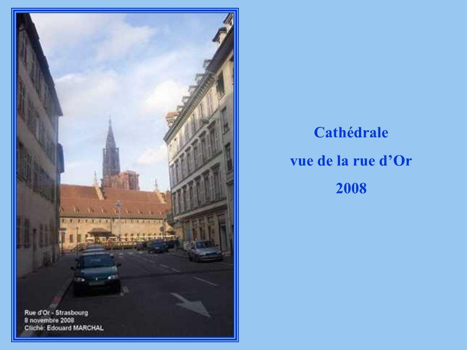 Cathédrale vue de la rue d'Or 2008