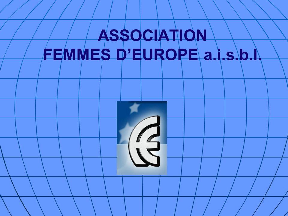 ASSOCIATION FEMMES D'EUROPE a.i.s.b.l.