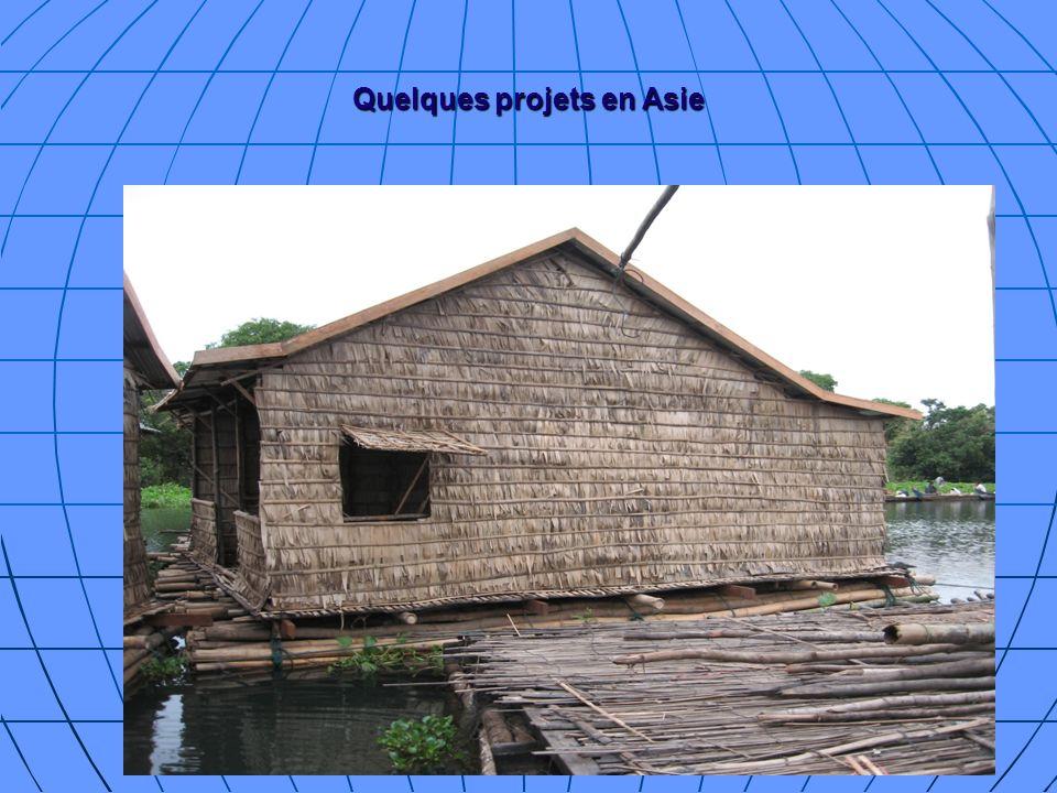 Quelques projets en Asie