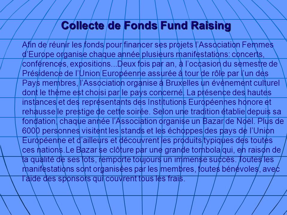 Collecte de Fonds Fund Raising