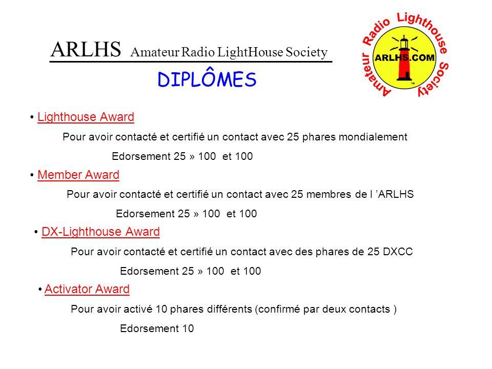 ARLHS Amateur Radio LightHouse Society