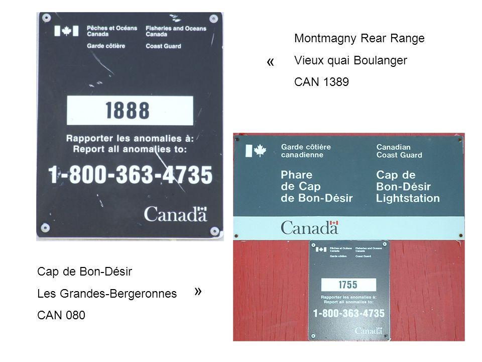 « » Montmagny Rear Range Vieux quai Boulanger CAN 1389