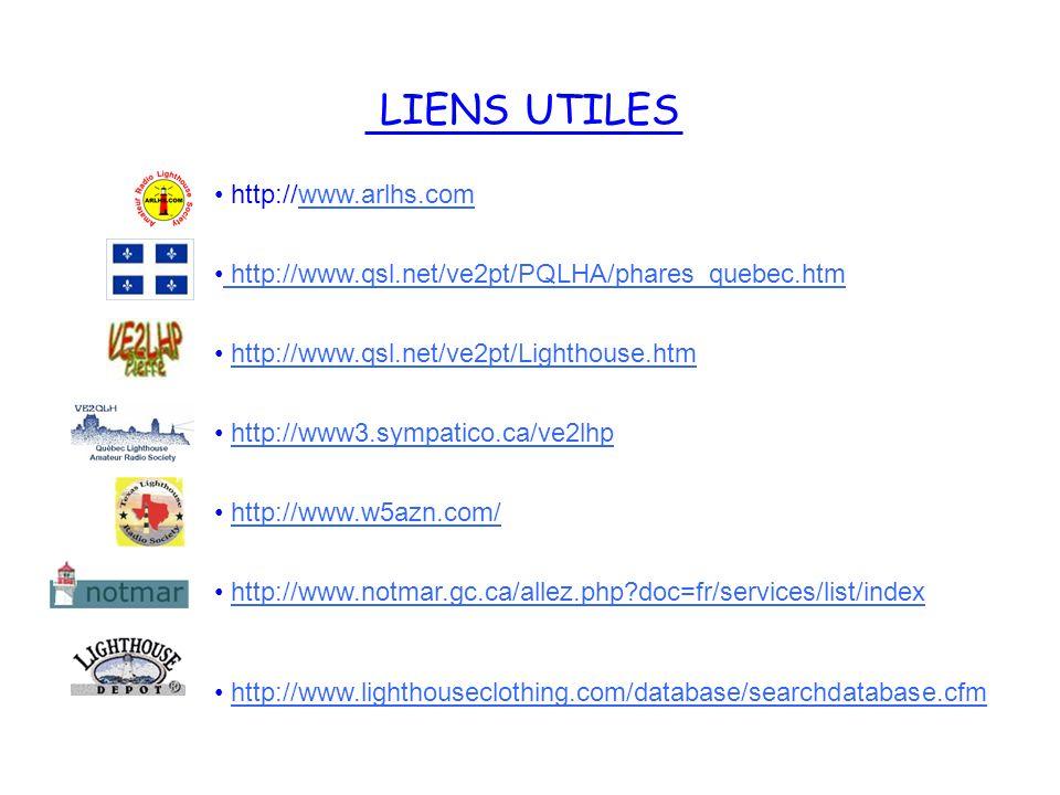LIENS UTILES http://www.arlhs.com
