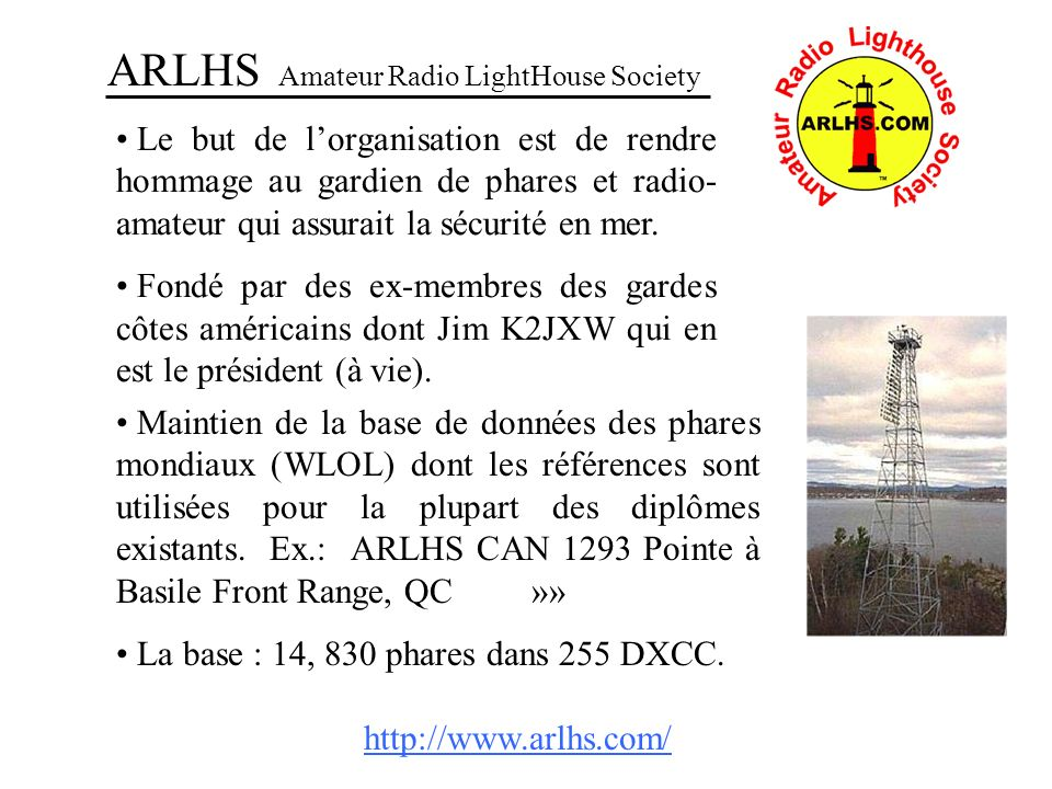 ARLHS Amateur Radio LightHouse Society
