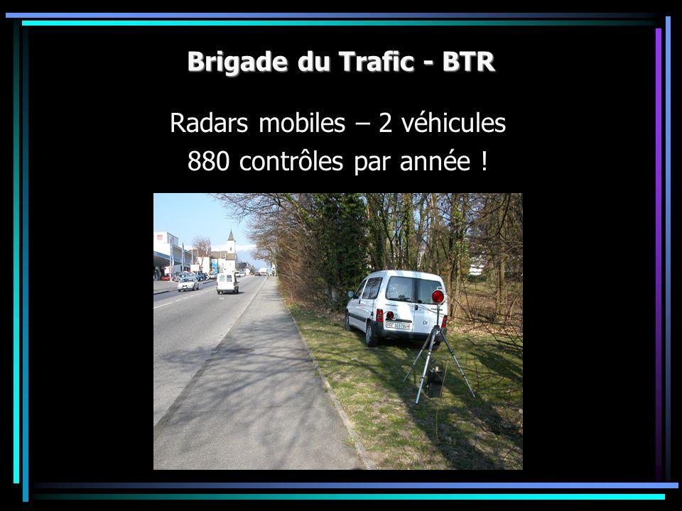 Radars mobiles – 2 véhicules