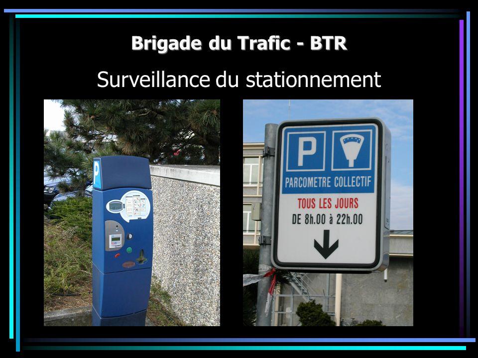 Surveillance du stationnement