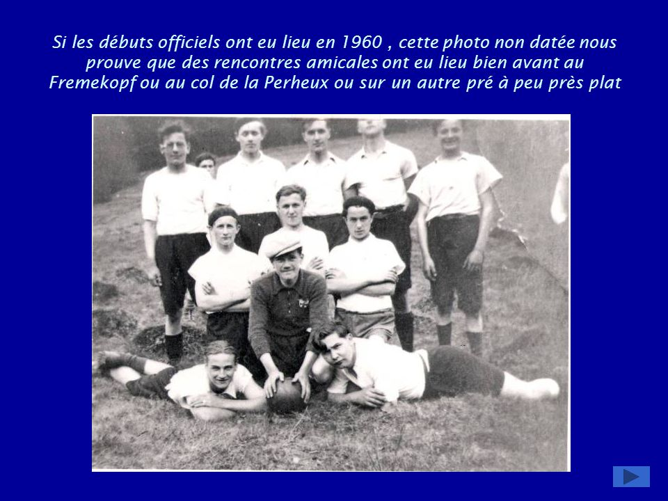 Rencontres amicales 50 ans