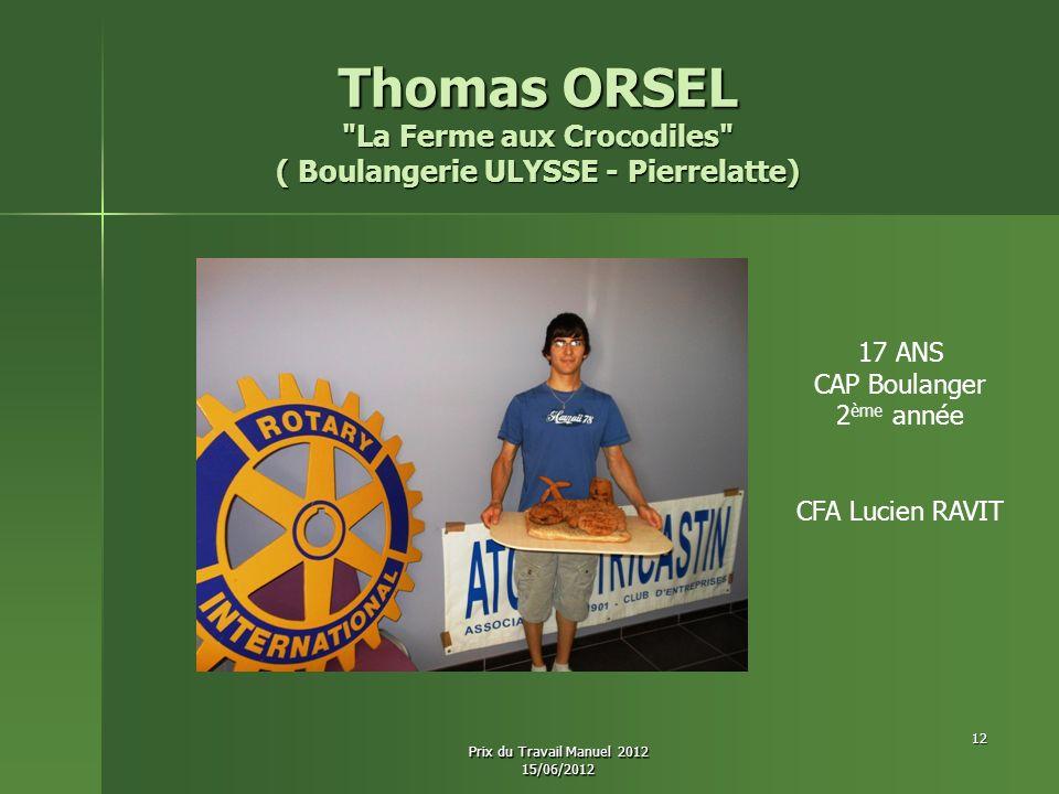 La Ferme aux Crocodiles ( Boulangerie ULYSSE - Pierrelatte)