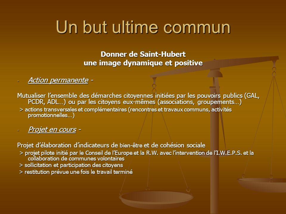 Donner de Saint-Hubert une image dynamique et positive