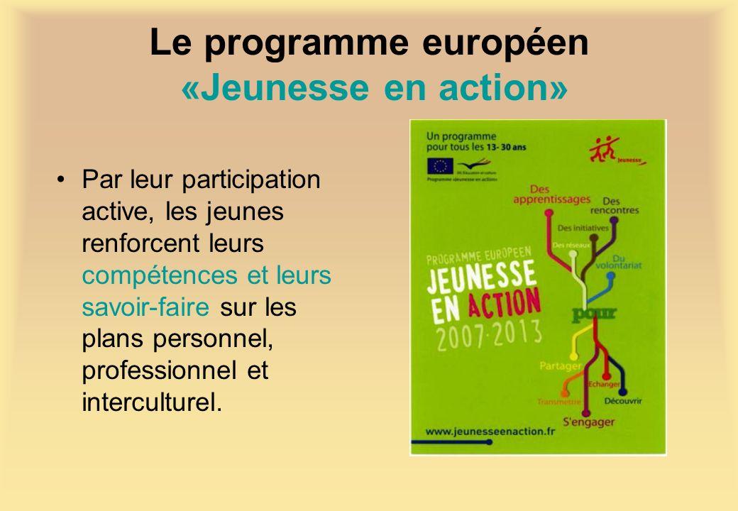 Le programme européen «Jeunesse en action»
