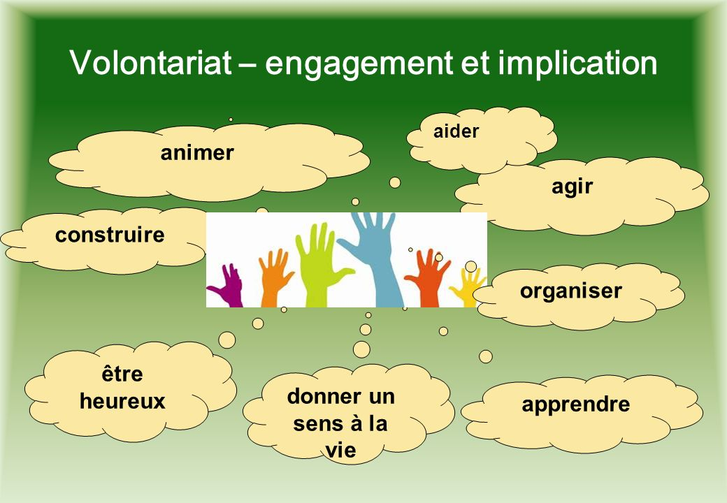 Volontariat – engagement et implication