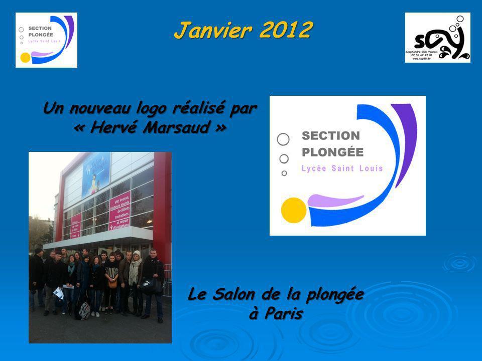 Janvier 2012 Un nouveau logo réalisé par « Hervé Marsaud »