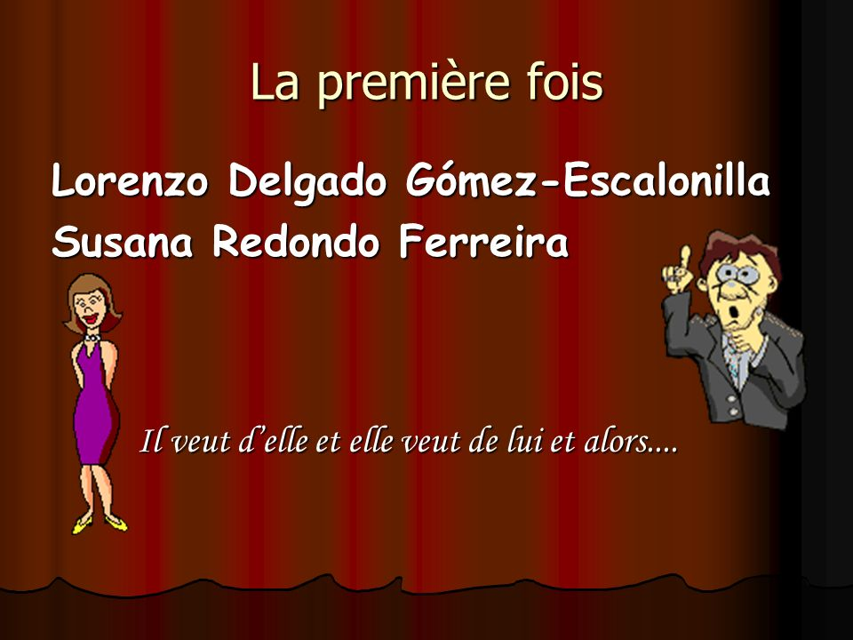 La première fois Lorenzo Delgado Gómez-Escalonilla