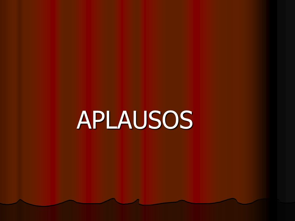 APLAUSOS