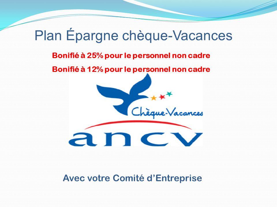 Plan Épargne chèque-Vacances