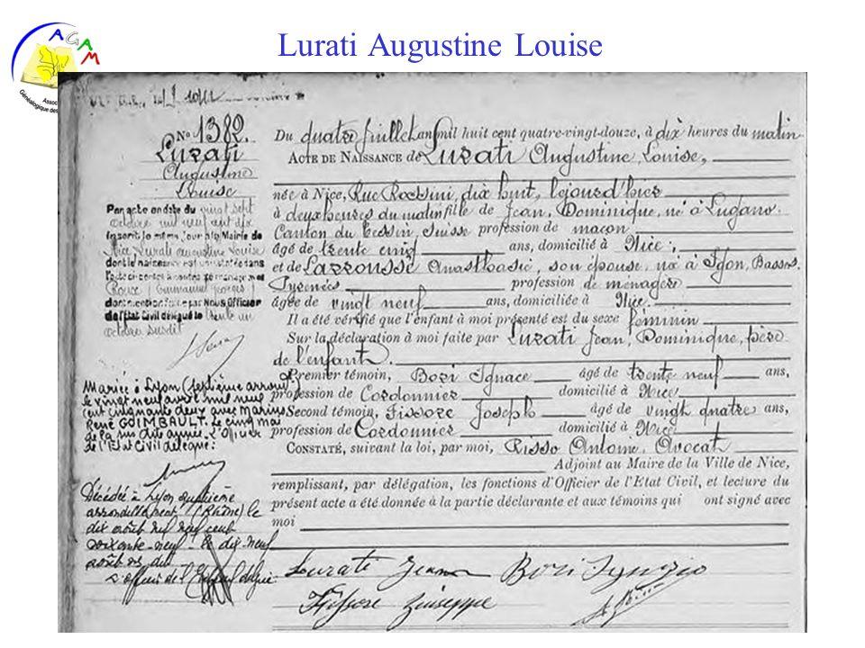 Lurati Augustine Louise