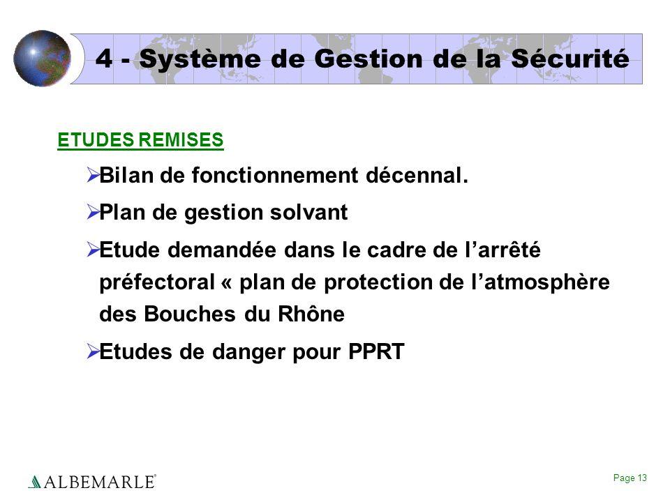 4 - Système de Gestion de la Sécurité