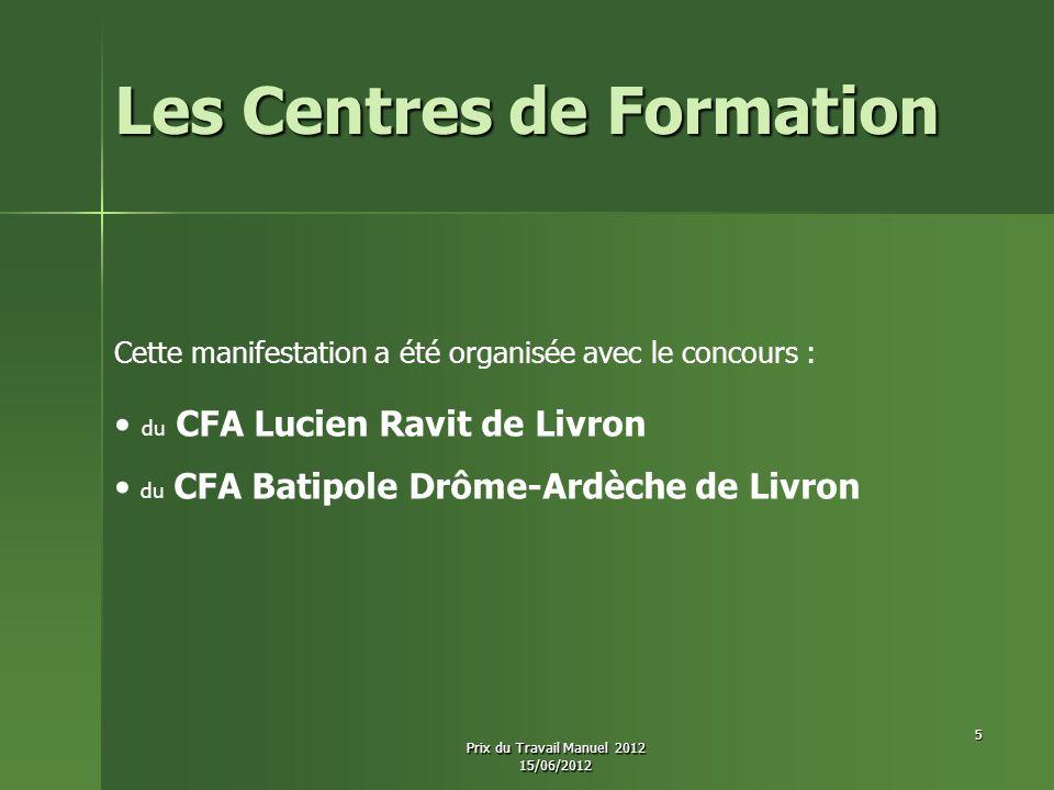 Les Centres de Formation