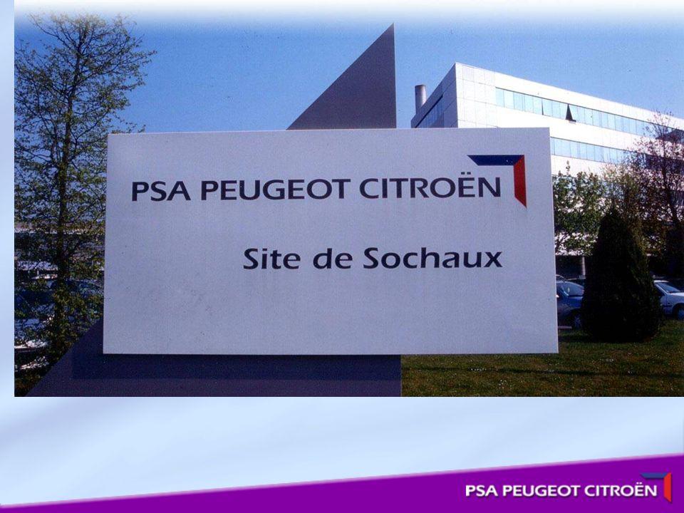 Le site de Sochaux