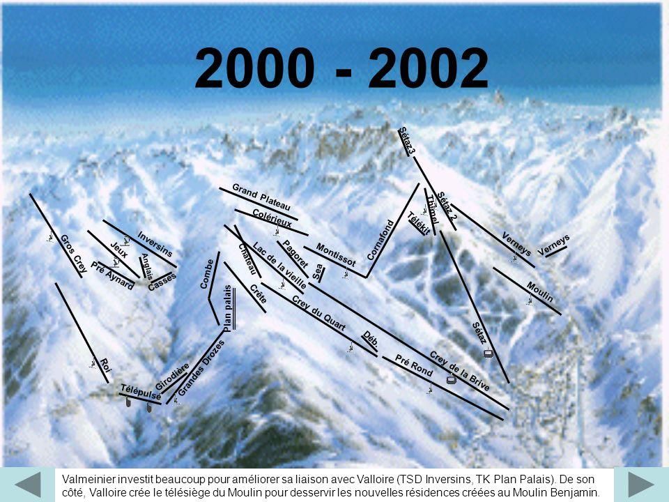 2000 - 2002 Moulin. Sea. Pagoret. Montissot. Crey de la Brive. Grand Plateau. Verneys. Château.