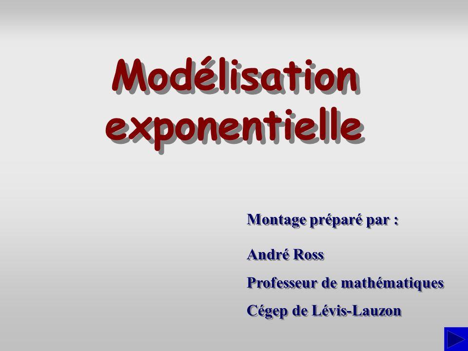 Modélisation exponentielle