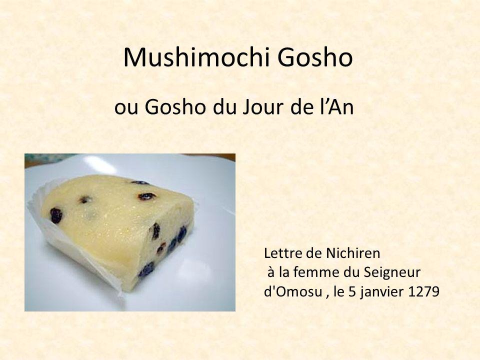 Mushimochi Gosho ou Gosho du Jour de l'An