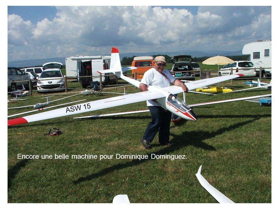 ASW 15 Encore une belle machine pour Dominique Dominguez.