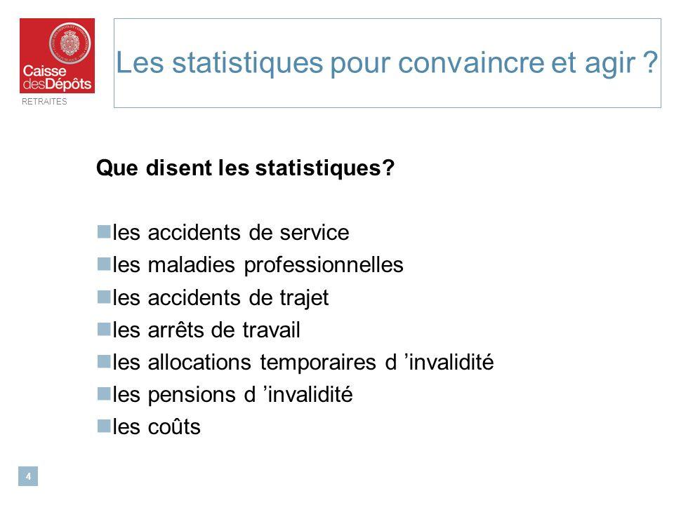 Les statistiques pour convaincre et agir